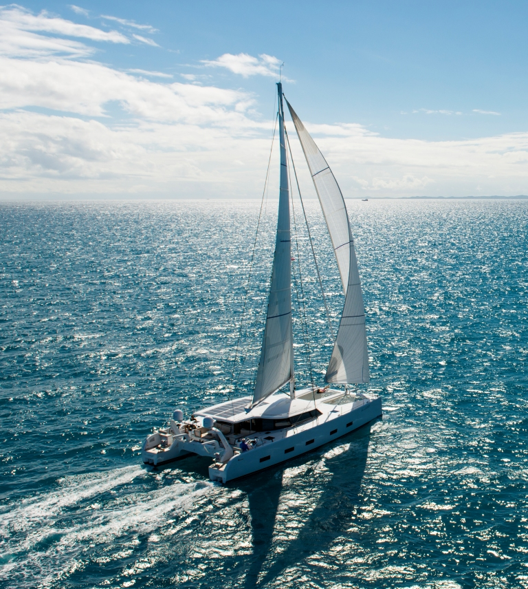 Like a BrEEZE 45'000nm anniversary while crossing the Pacific!