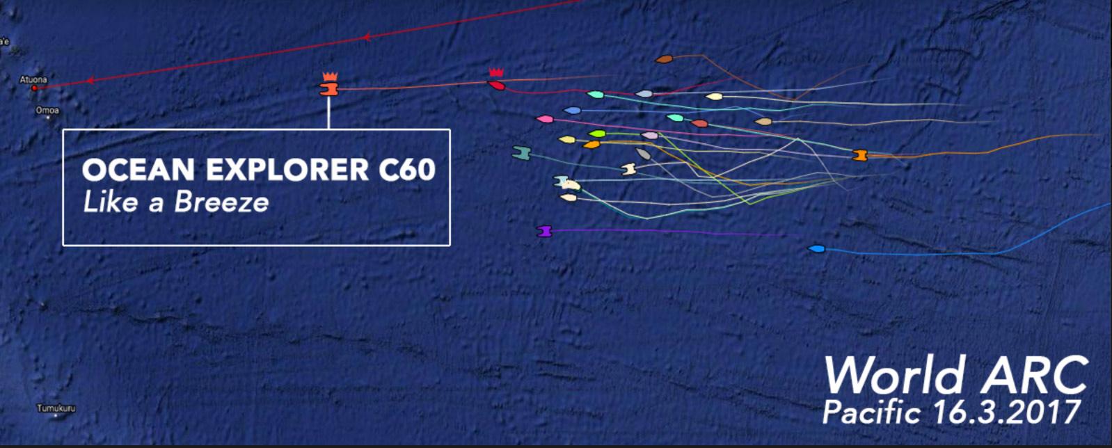 Ocean Explorer – ARC World Rally update