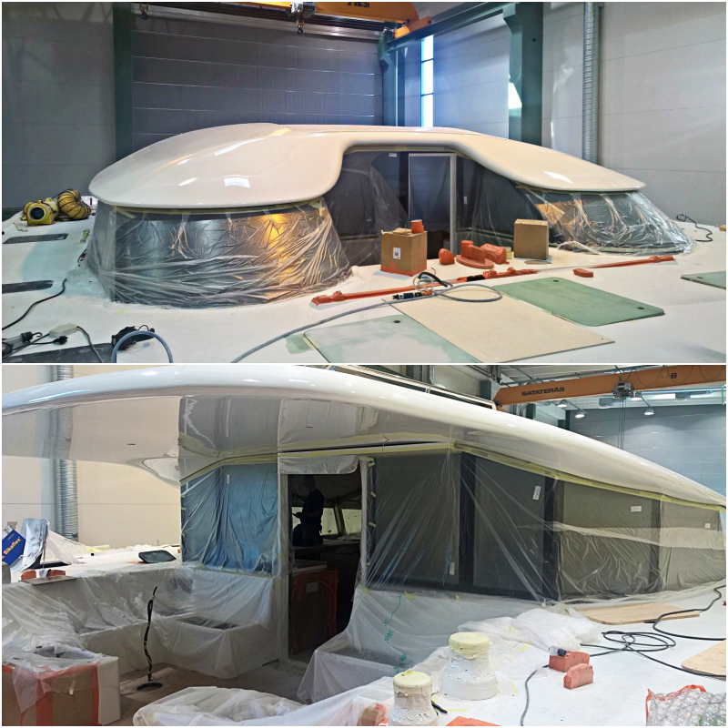 Update from the boatyard